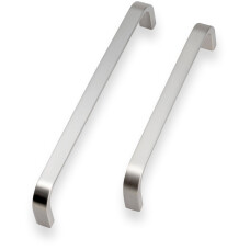 Contemporary D Handle - Brushed Nickel