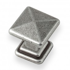 Cross Knob in Pewter