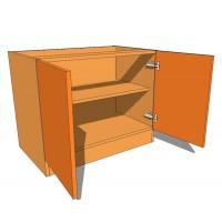 Double Door Bedside Cabinet 480mm Deep