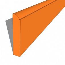 Bedroom Plinth 2540mm PVC Profiled