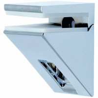 Kalabrone Mini Shelf Bracket Chrome - Single