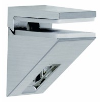 Kalabrone Mini Shelf Bracket Brushed Nickel - Single