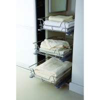 Soft Close Bedroom Storage Pull Out Baskets