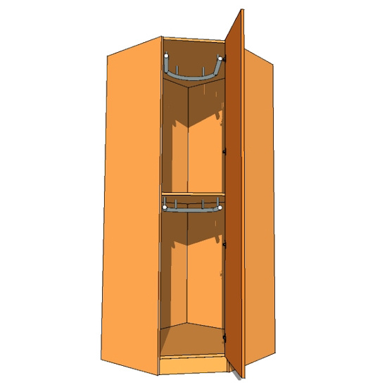 corner bedroom furniture. corner diagonal wardrobe double hanging 900mm bedroom furniture o