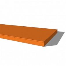 Bedroom PVC Decorative Shelving 200mm deep
