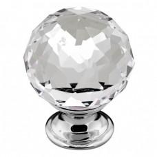 Crystal Glass Knob Handle