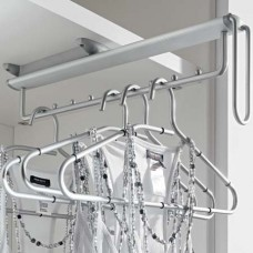 Hafele Pull-Out Clothes Hanger Rail, Under Mounted
