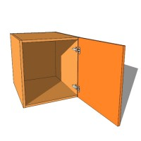 Top Box/Bridging Unit - Single Door - 540mm High - 600mm Deep