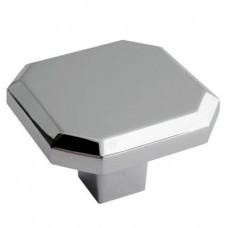 Crofts & Assinder Corbusier Zamak Cabinet Knob -  Chrome