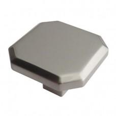 Crofts & Assinder Corbusier Zamak Cabinet Knob - Brushed Nickel