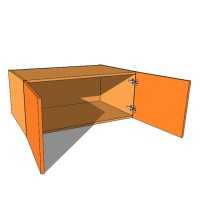 Top Box/Bridging Unit - Double Door - 420mm High - 600mm Deep