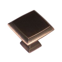 Crofts & Assinder Wellington Zamak Cabinet Knob - American Copper