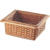 Hafele Wicker Storage Baskets inc Runners