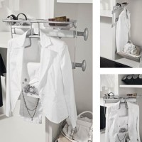 Hafele Pivoting Pull-out Suit Rack