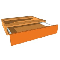 Kneespace - Dresser Unit - 120mm High - 480mm Deep