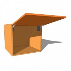 Top Box/Bridging Unit - 540mm High - 600mm Deep - Vertical Lift - Single Door WITH AVENTOS LIFT