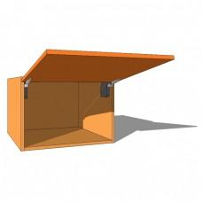 Top Box/Bridging Unit - 420mm High - 600mm Deep - Vertical Lift - Single Door WITH AVENTOS LIFT