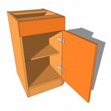 Bedroom Cabinet Drawerline Single Door & Drawer 480mm Deep 760mm High
