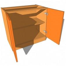 Bedroom Cabinet Highline Double Door 480mm Deep